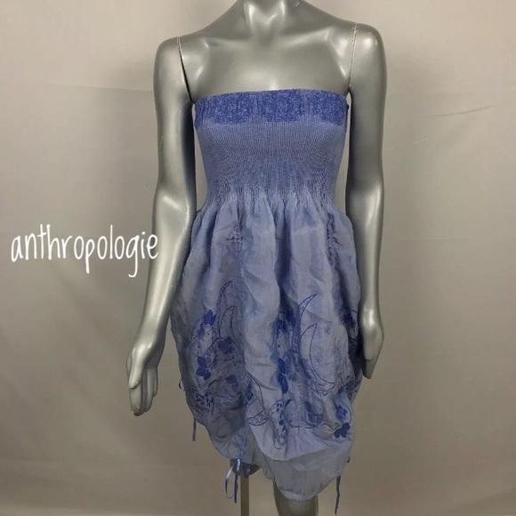 7f252dbc7c8b Lapis Dresses & Skirts - Anthropologie Lapis Dress Strapless Strapless OS